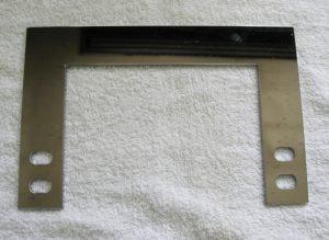 銅板 4t タレパン切断 ニッケルメッキ仕上げ