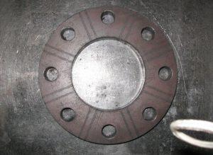 SS400 19t 取り付け穴径~Φ19 ケガキいり